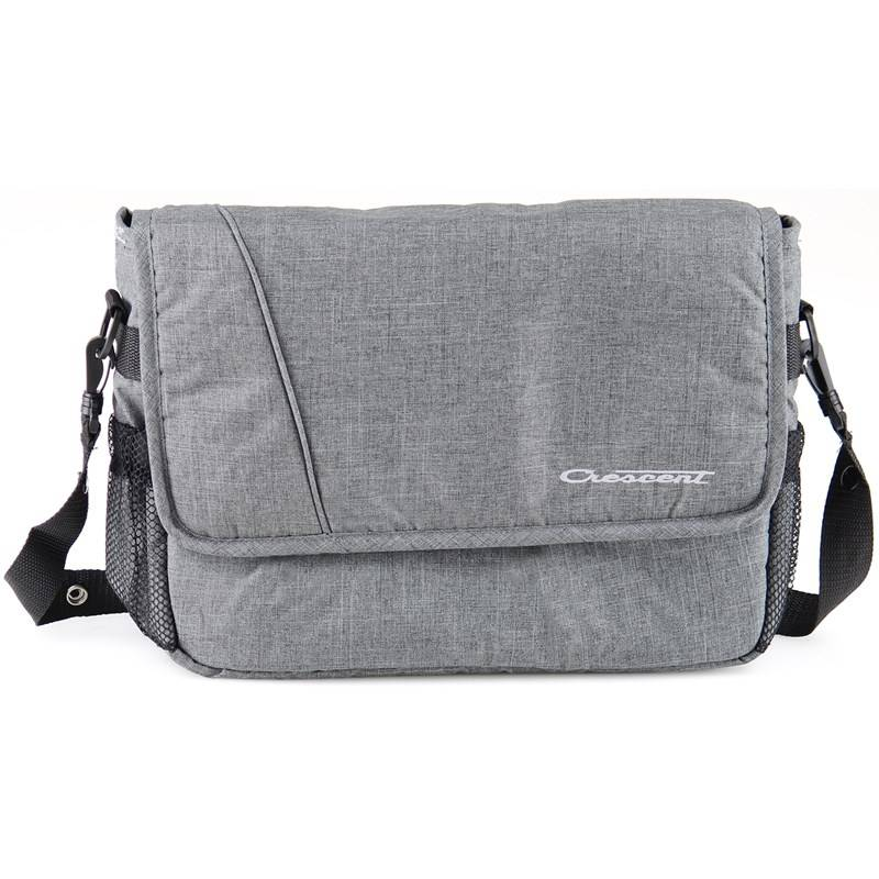 Crescent Hoitolaukku, Crescent Bag, Grey Melange