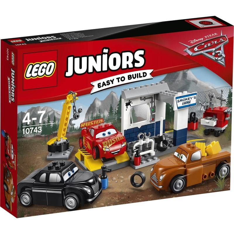 Lego Juniors Cars, 10743, Smokeyn autokorjaamo