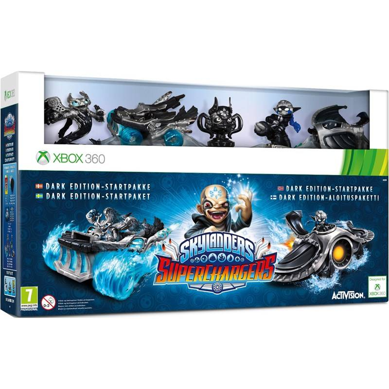 Skylanders Superchargers, Dark Edition Starter pack (Xbox 360)