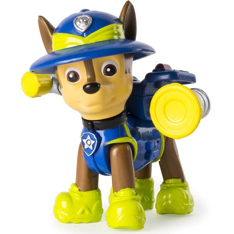 Paw Patrol Jungle Rescue Hero Pup, Chase