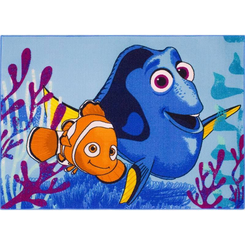 Associated Weaver Disney Pixar Finding Dory, Matto, Bubble Buddies, 95 x 133 cm