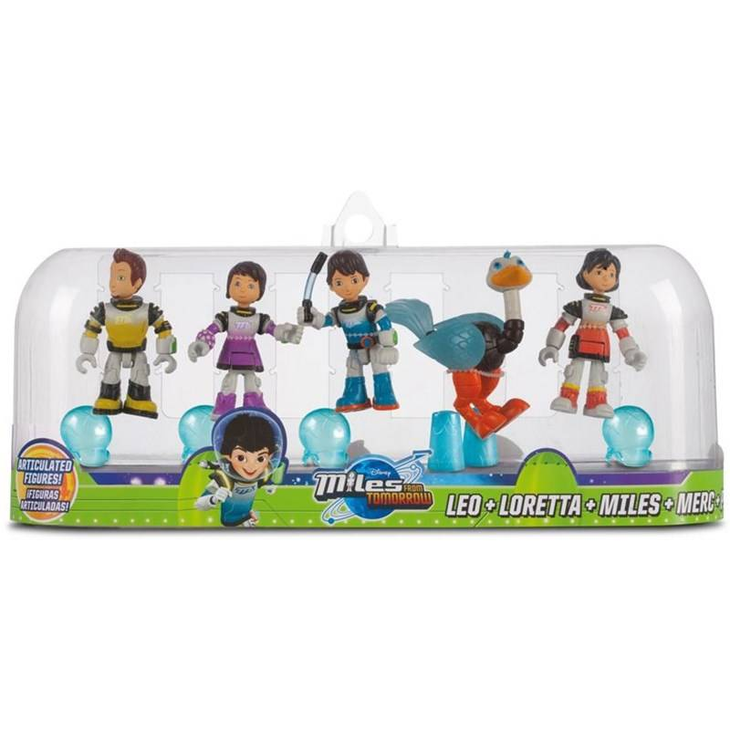 Miles From Tomorrowland Figures, 5-pack