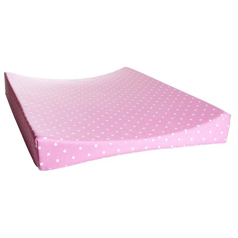 Färg & Form Changing Pad Pink Dots