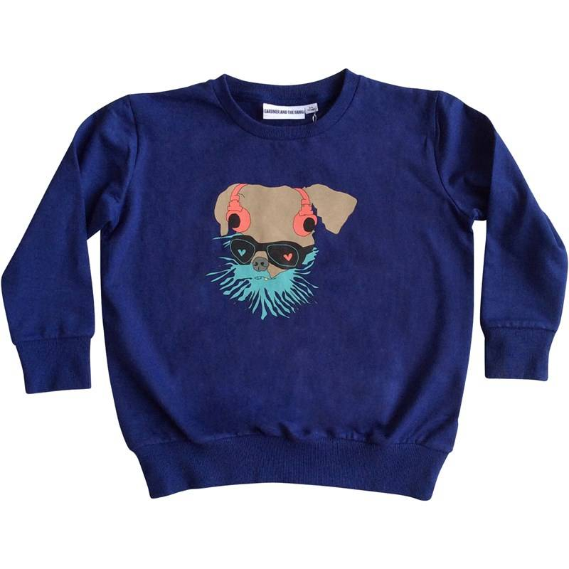 Gardner and the gang Collegepusero, The light sweater Greg, Blue3-6 kk