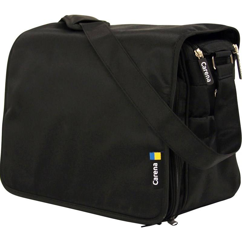 Carena Koster, Hoitolaukku, Messenger Bag, Black