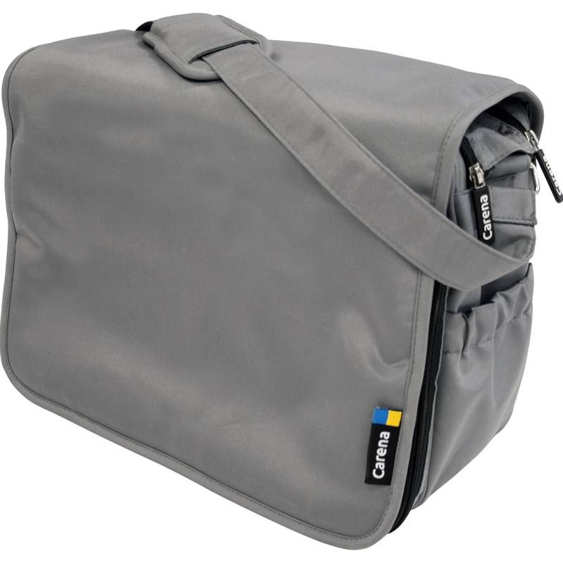 Carena Koster, Hoitolaukku, Messenger Bag, Grey