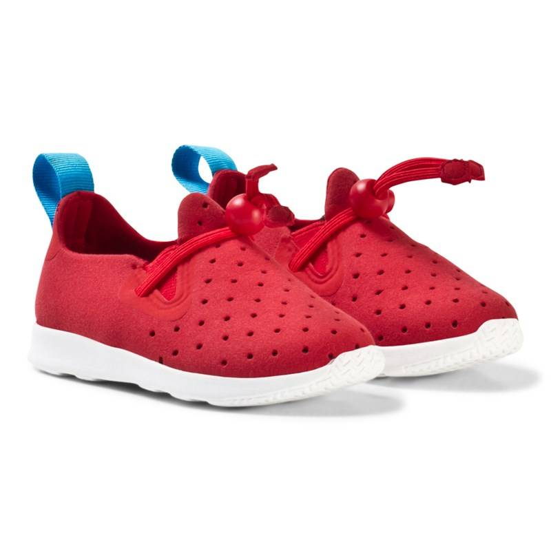 Native Red Apollo Moc Trainers22 (UK 5)