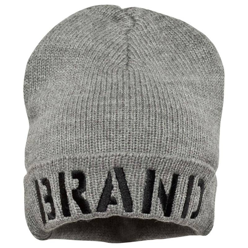 The BRAND Winter Hat Grey Melange