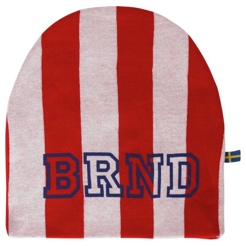 The BRAND Hat Red Stripe