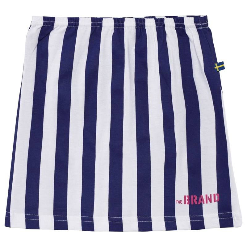 The BRAND Jersey Skirt Blue/White Stripe80/86 cm