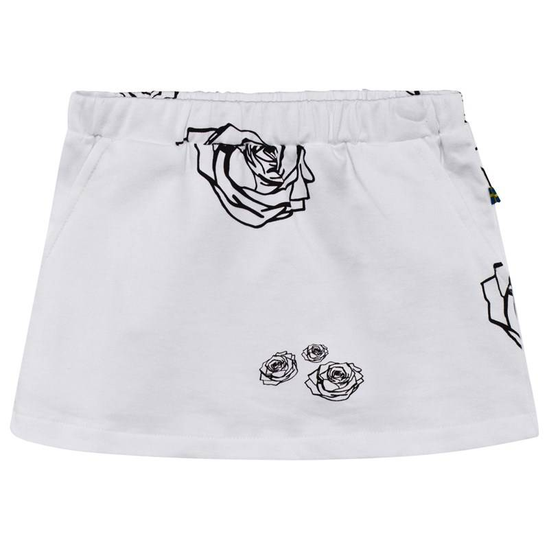 The BRAND Kit Skirt White Roses80/86 cm