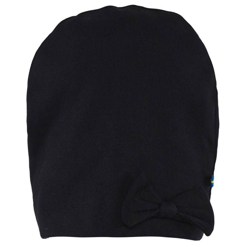 The BRAND Bow Hat Black