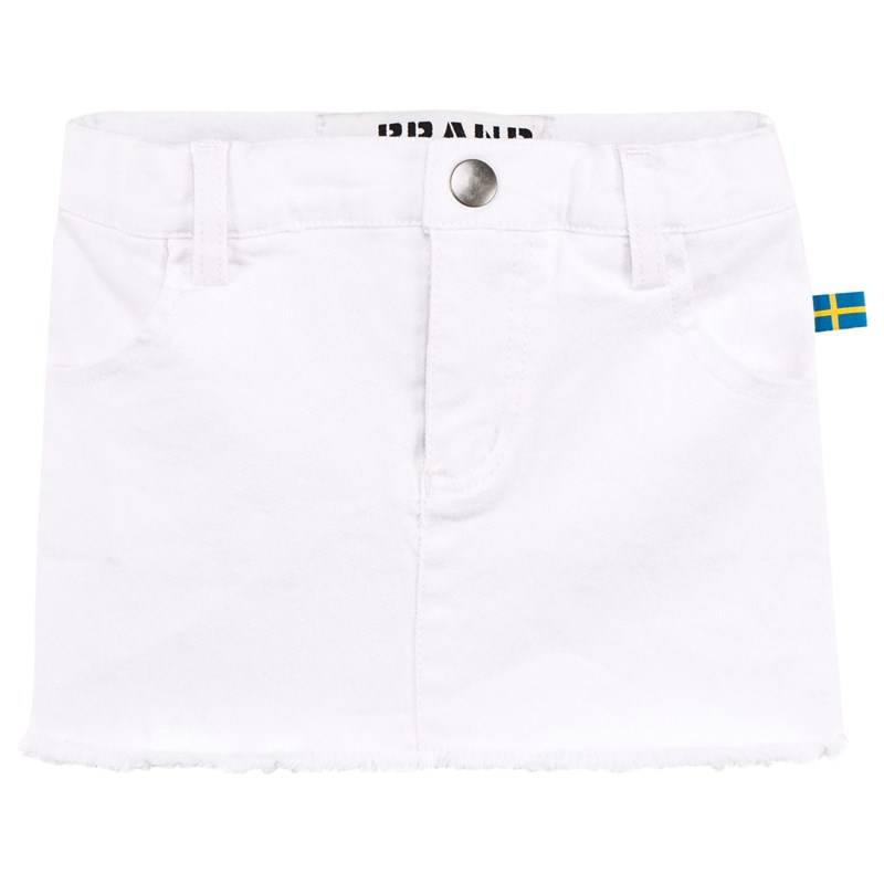 The BRAND Farkkuhame Washed White104/110 cm