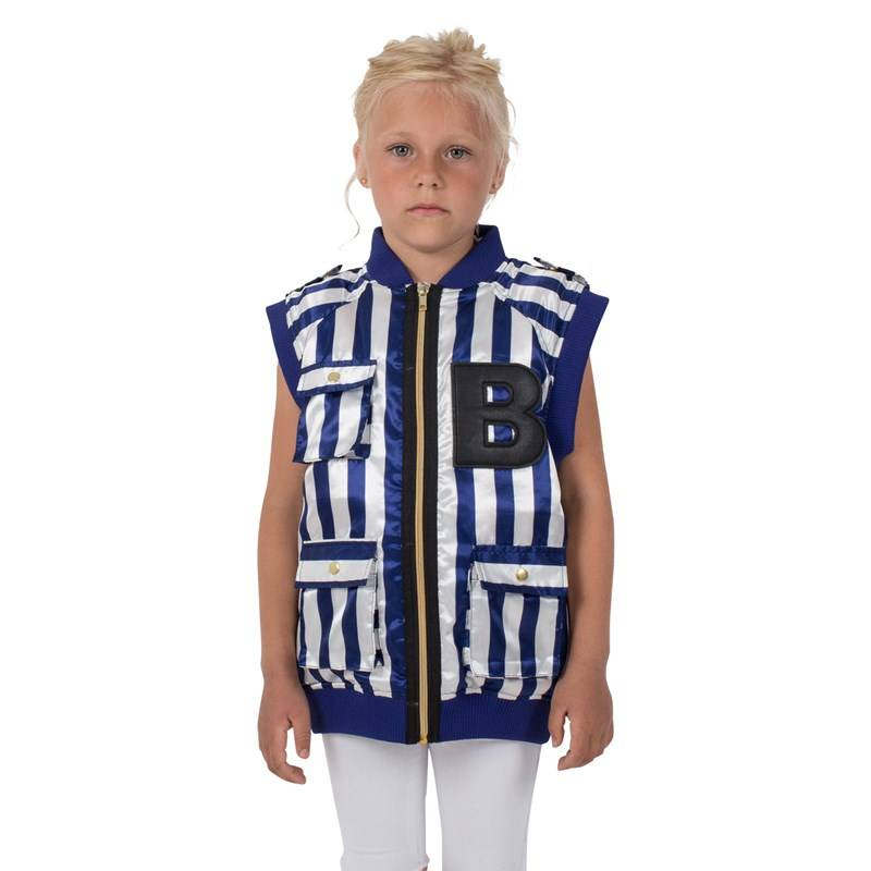 The BRAND B Vest Blue/White Stripe80/86 cm