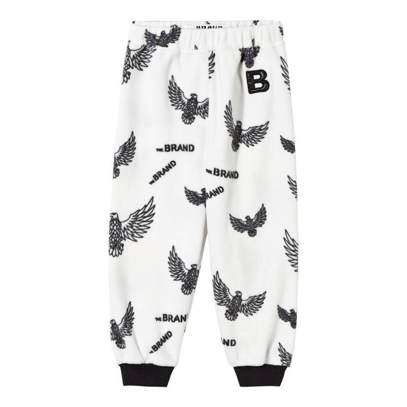 The BRAND Fleece Pant Off White Eagles80/86 cm