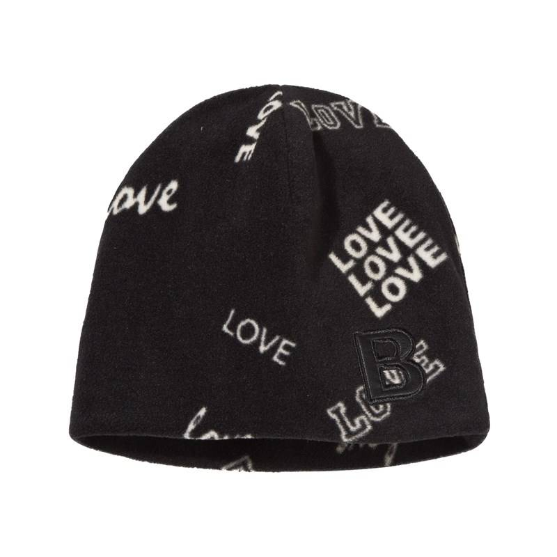 The BRAND Fleece Hat Black Love