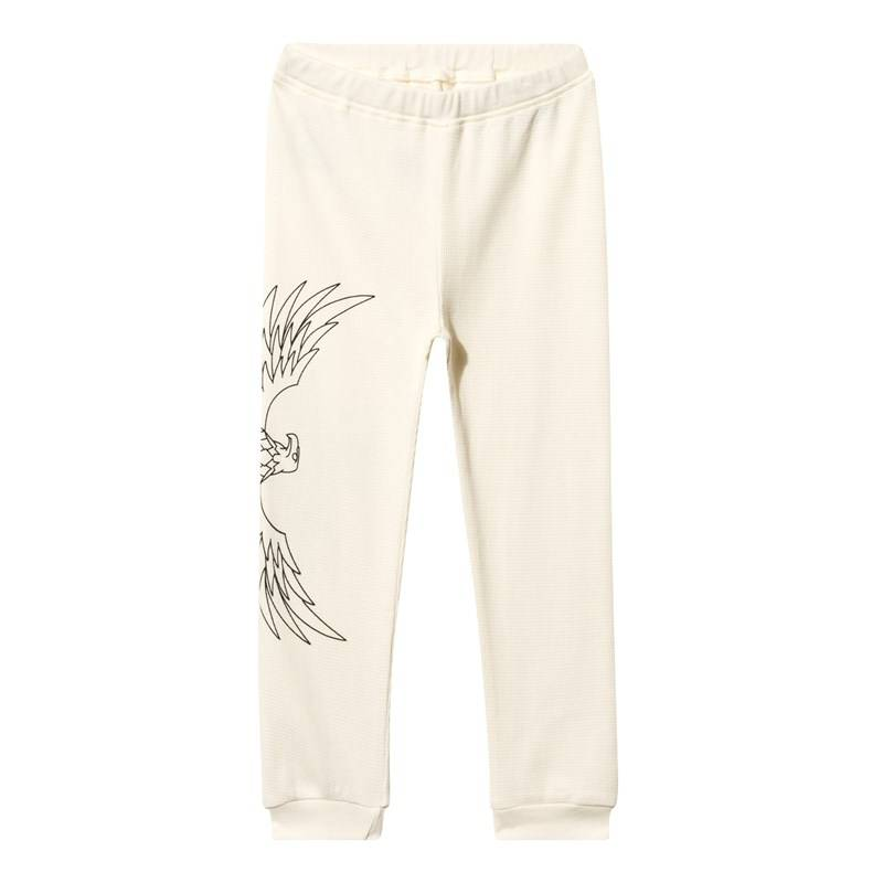The BRAND Baby Waffle Pant Off White56/62 cm