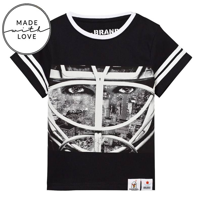 The BRAND Short Sleeve Tee Black 3080/86 cm