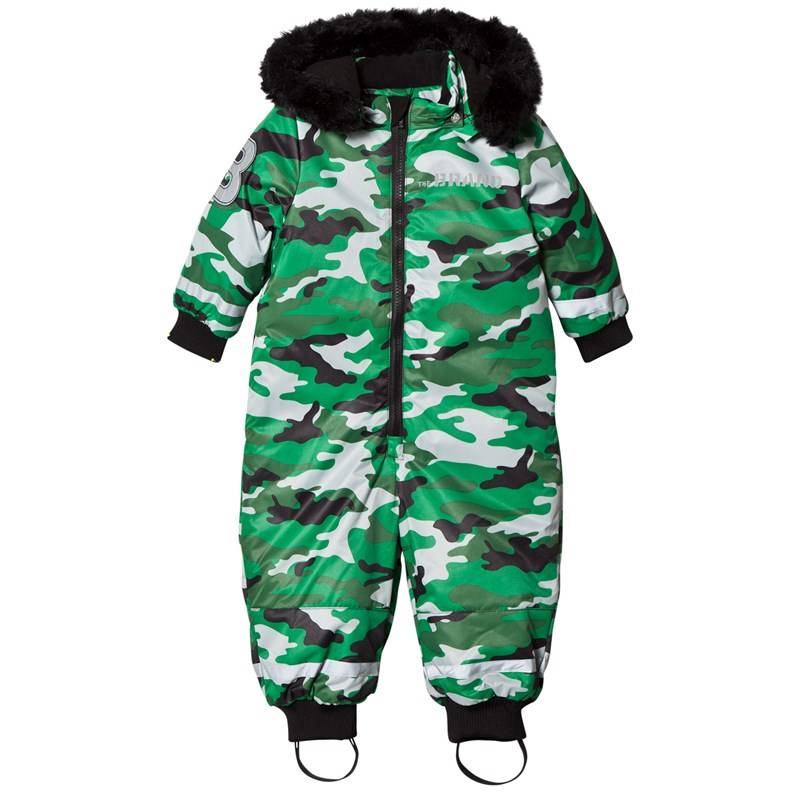 The BRAND Overall Light Camo With Black Fur56/62 cm