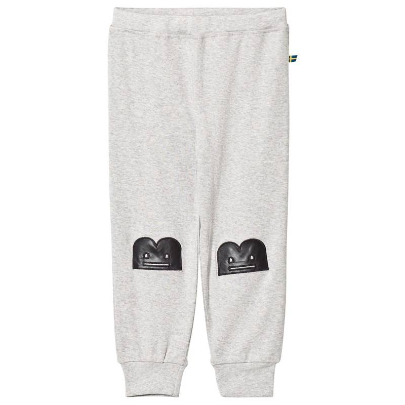 The BRAND Baby Face Pant Grey Mel With B-Moji56/62 cm