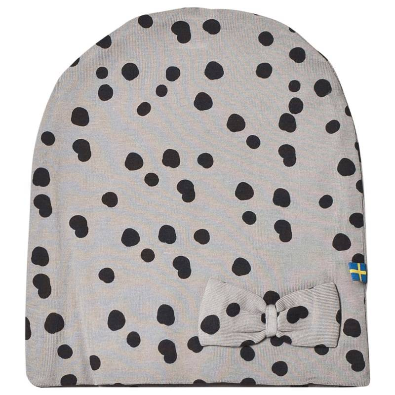 The BRAND Hat Grey Dot With Bow