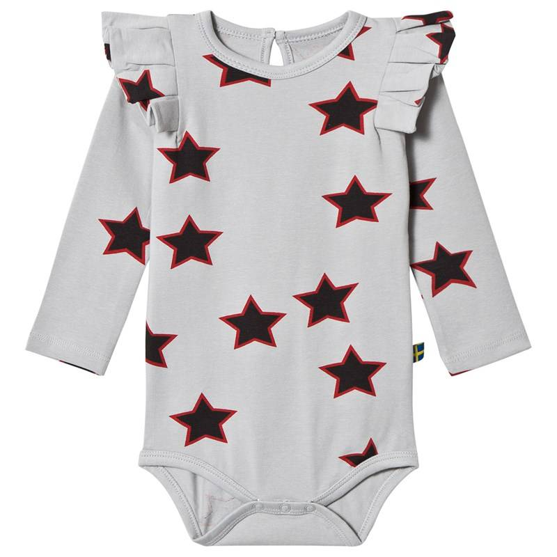 The BRAND Flounce Baby Body Red Allstar56/62 cm
