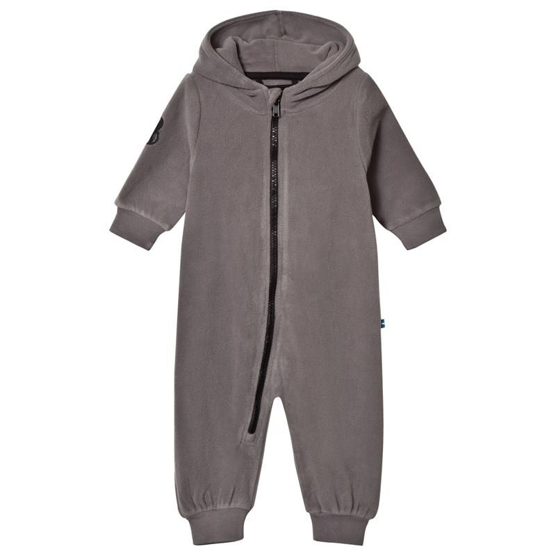 The BRAND Fleece Bolt Jogger Graphit Grey With Black Leather Bolt56/62 cm