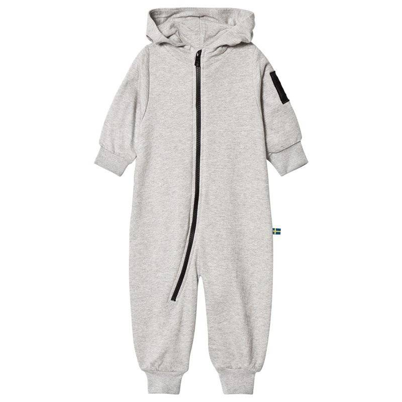 The BRAND Bolt Baby Onesie Grey Mel80/86 cm