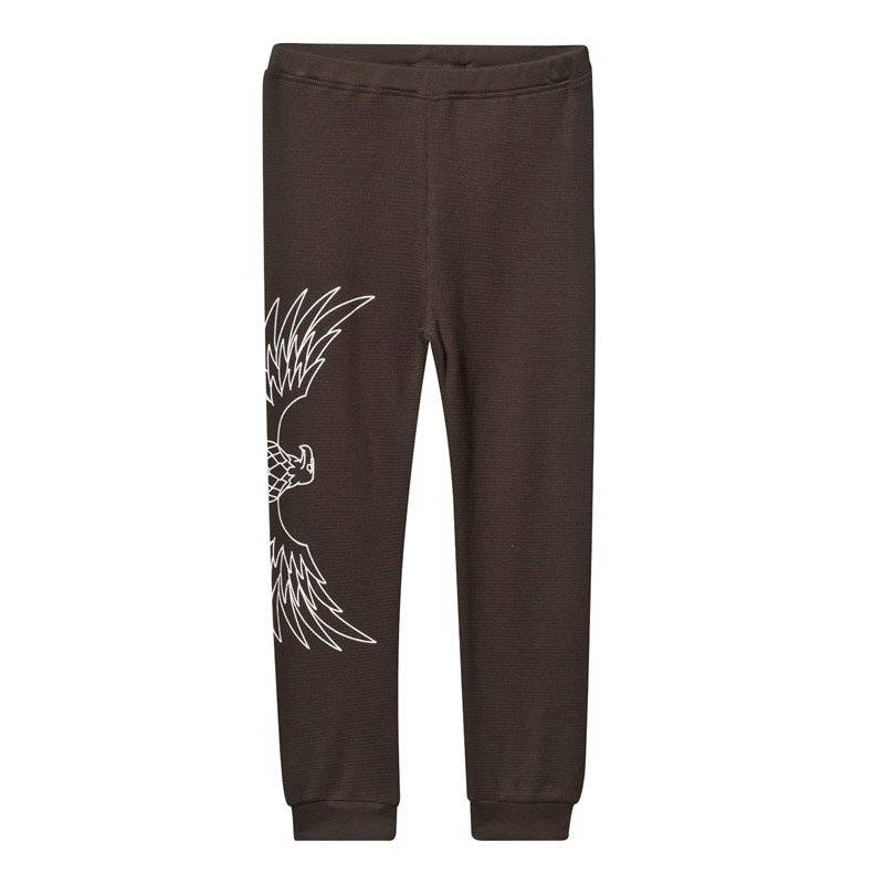 The BRAND Baby Waffle Pant Almost Black56/62 cm