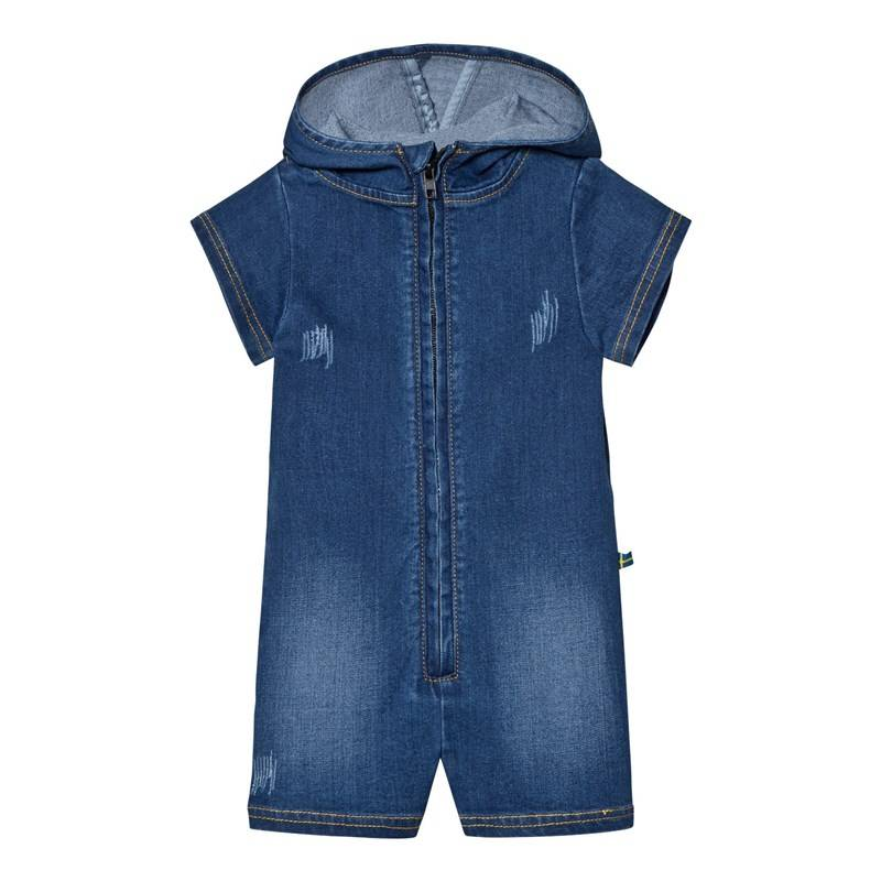 The BRAND Romper Stonewashed Blue56/62 cm