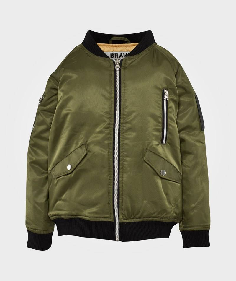 The BRAND Bomb Jacket Olive Green80/86 cm