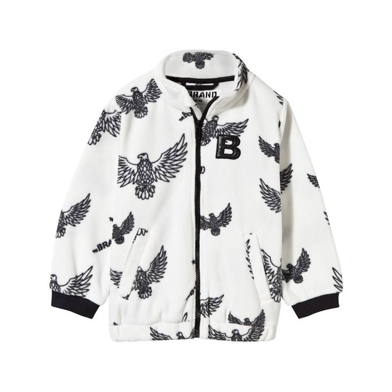 The BRAND Fleece Sweater Off White Eagles116/122 cm