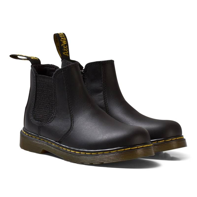 Dr. Martens Black Leather Banzai Chelsea Boots23 (UK 6)