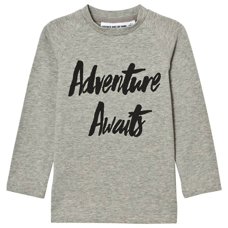 Gardner and the gang Adventure L/S T-paita, Harmaa3-4 v