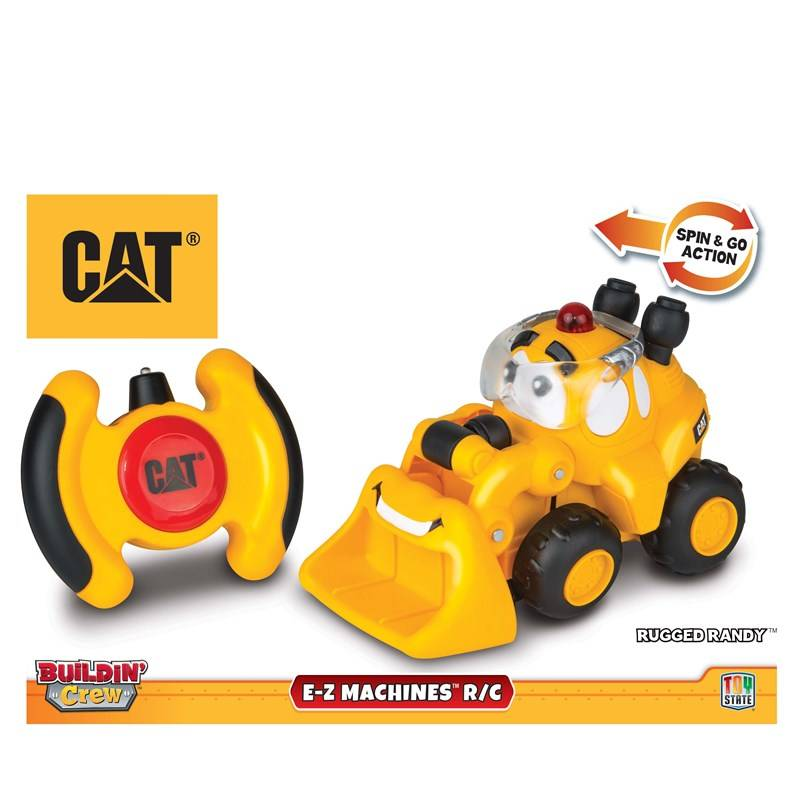 CAT Radio-ohjattava auto, E-Z Machines RC, Rugged Randy