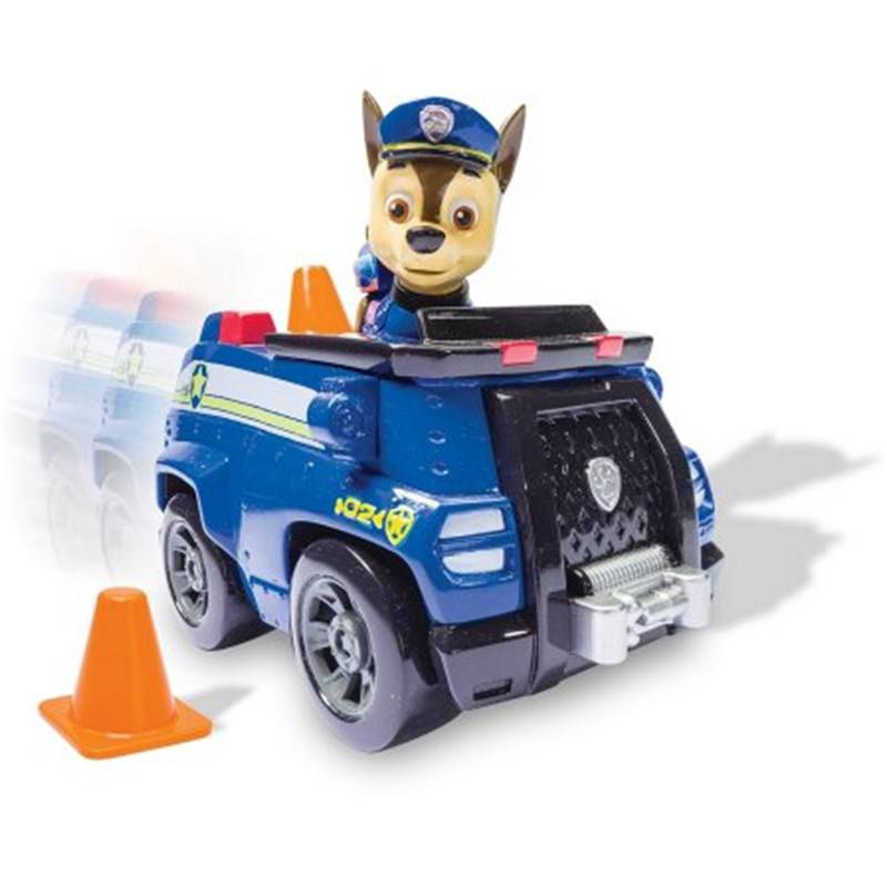Paw Patrol Basic Vehicle With Pup, Chase´s Cruiser