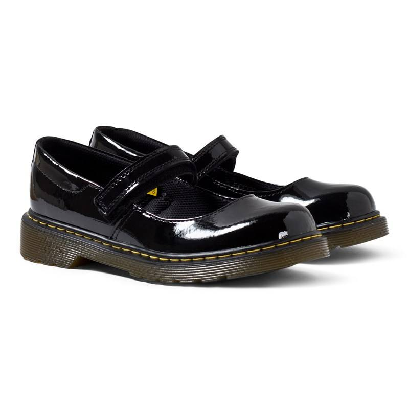 Dr. Martens Maccy Black Patent Mary Janes28 (UK 10)