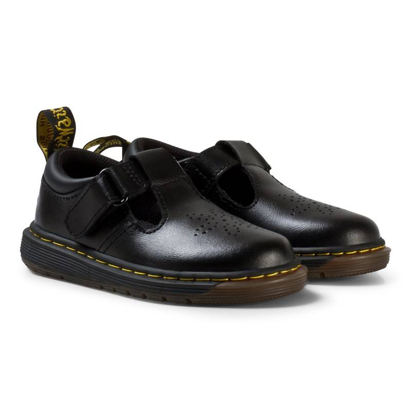 Dr. Martens Mustat Dulice Toddler Leather Boots24 (UK 7)