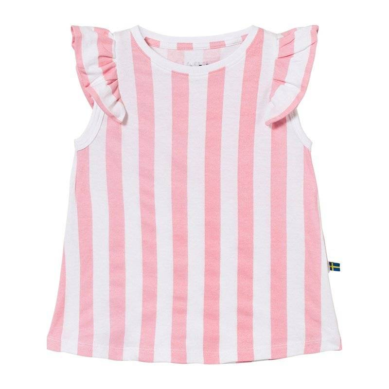 The BRAND Suede Top Pink Stripe80/86 cm
