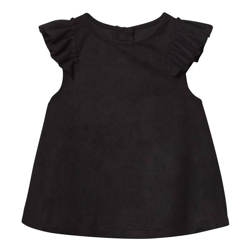 The BRAND Suede Top Black104/110 cm