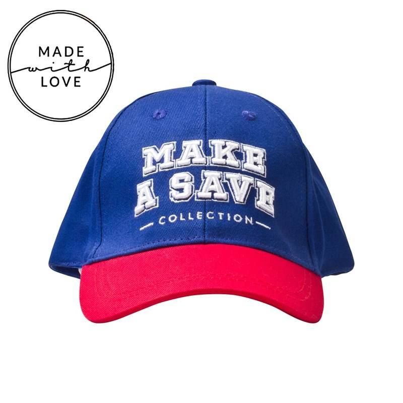 The BRAND Cap Red/Blue