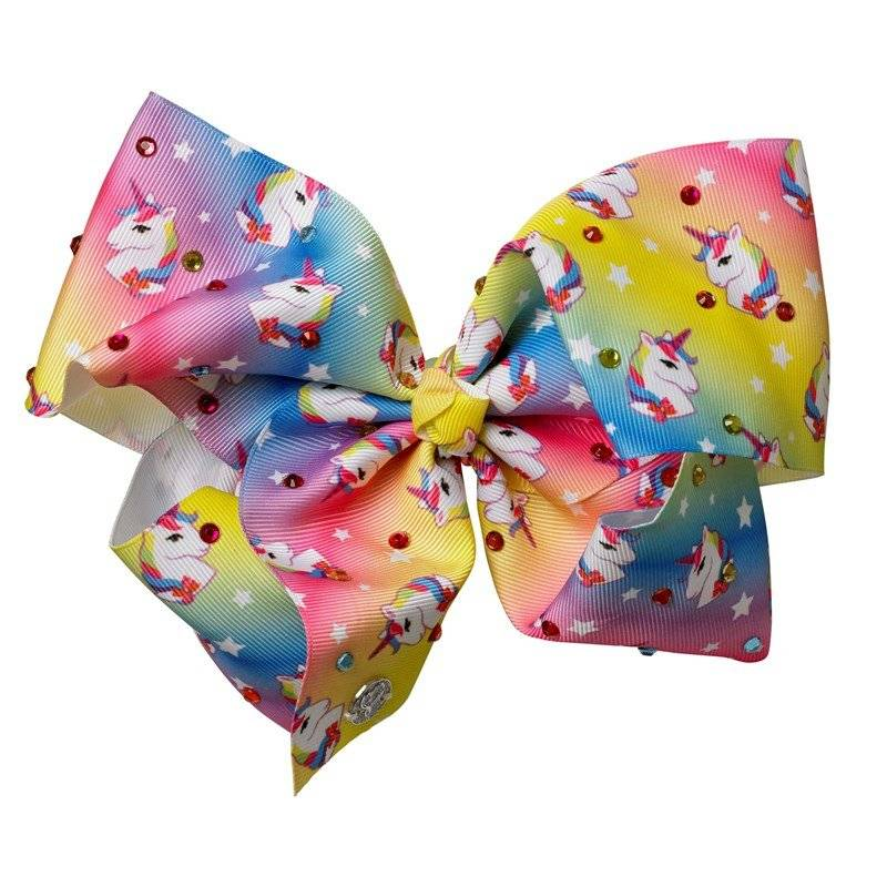 Jojo Siwa Unicorn Bow Rainbow