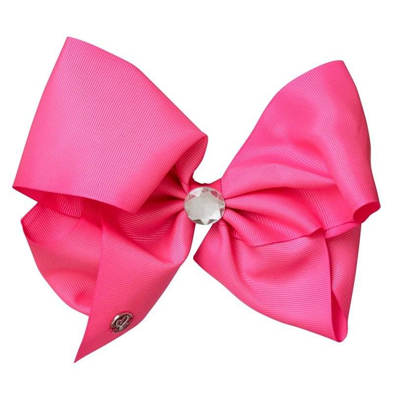 Jojo Siwa Rhinestones Keeper Bow Hot Pink