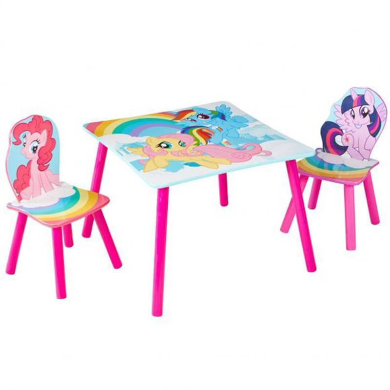 Hello Home My Little Pony Table and 2 Chairs Set by HelloHome