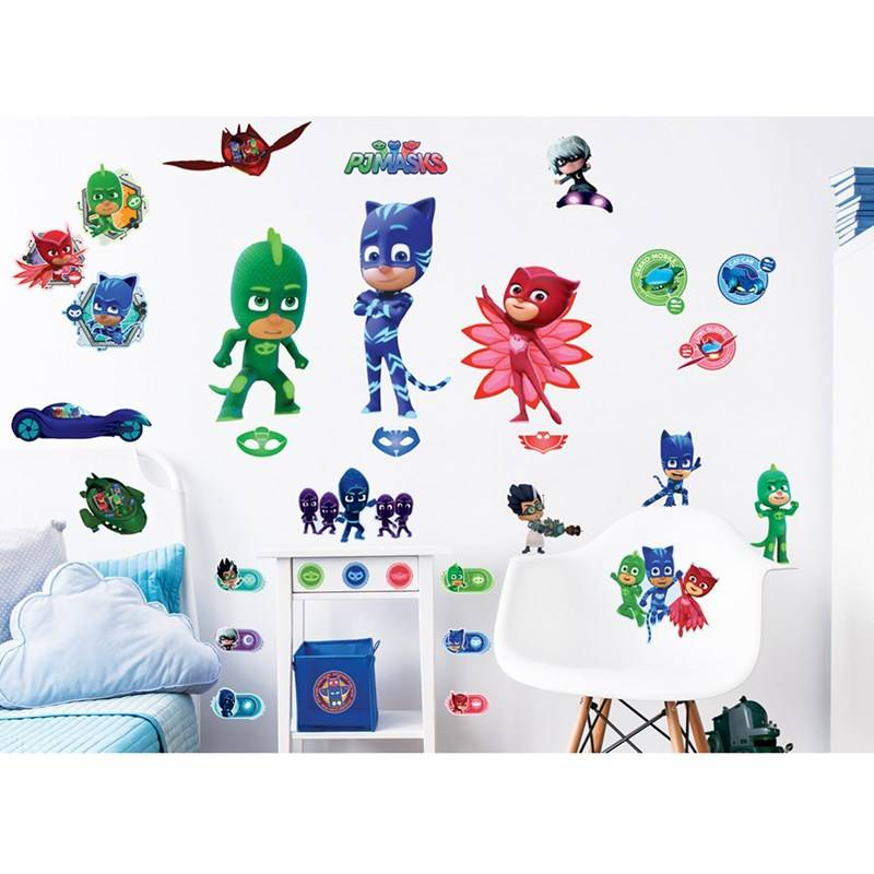 Walltastic PJ Masks Wall Stickers