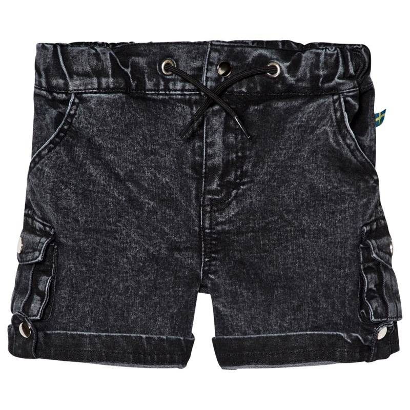 The BRAND Armyshorts Stone Wash Distressed Grey80/86 cm