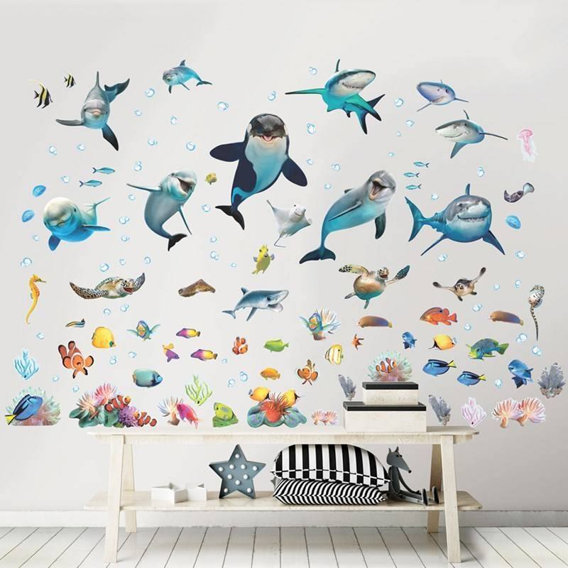 Walltastic Sea Adventure Room Décor Kit