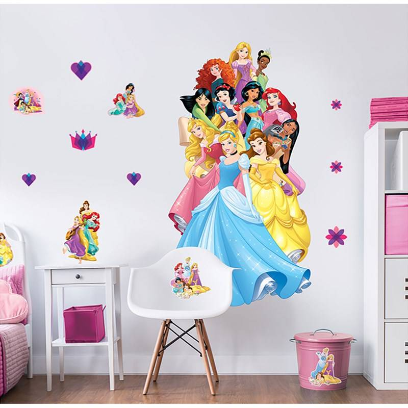 Walltastic Disney Princesses Large Character Sticker