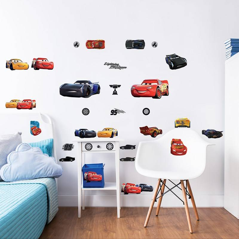 Walltastic Disney Cars Wall Stickers