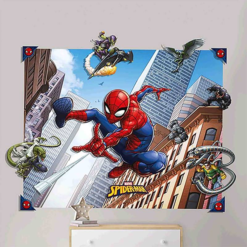 Walltastic Spider-Man 3D Pop-Out Wall Decoration